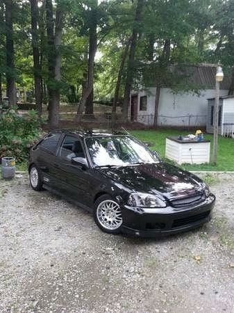 Nice Great 1996 Honda Civic 2 Door Hatchback Honda Civic H2b Swap 2017 2018 Honda Civic Hatchback Civic