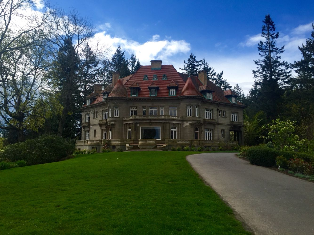 Pittock Mansion. Portland, Oregon