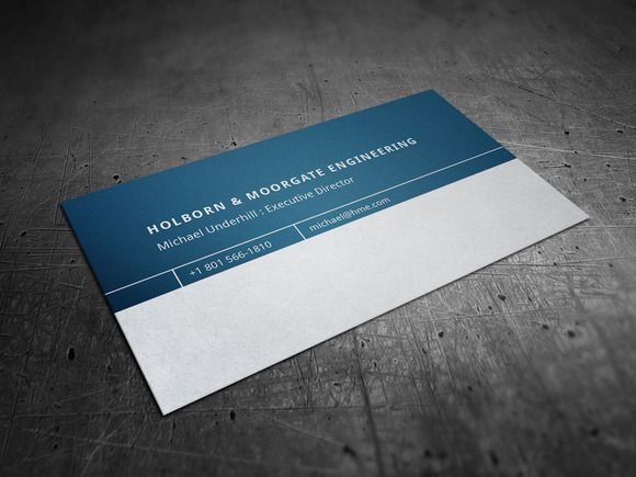 Corporate engineering business card business cards card templates corporate engineering business card flashek Choice Image