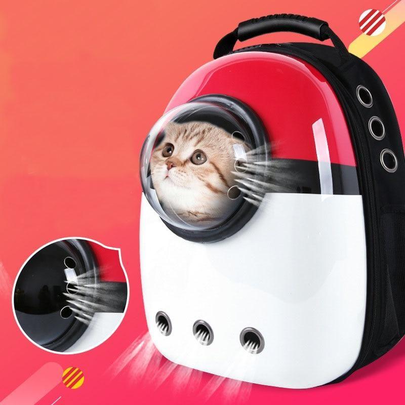 Pet Space Capsule Carrier Handbag for Dog Cat Carrier Bag With Shoulder Strap