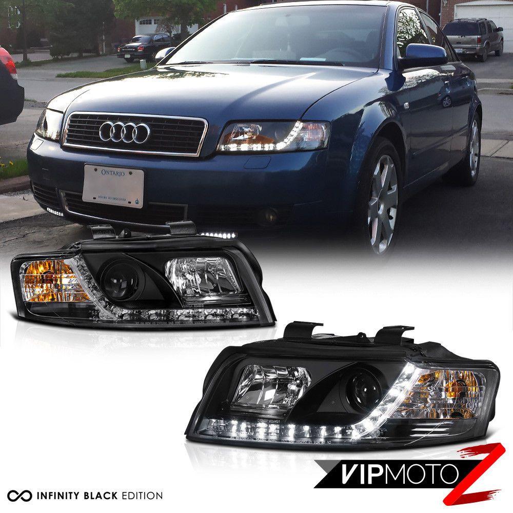 Details About 2002-2005 Audi A4 Typ 8E B6 Black LED R8