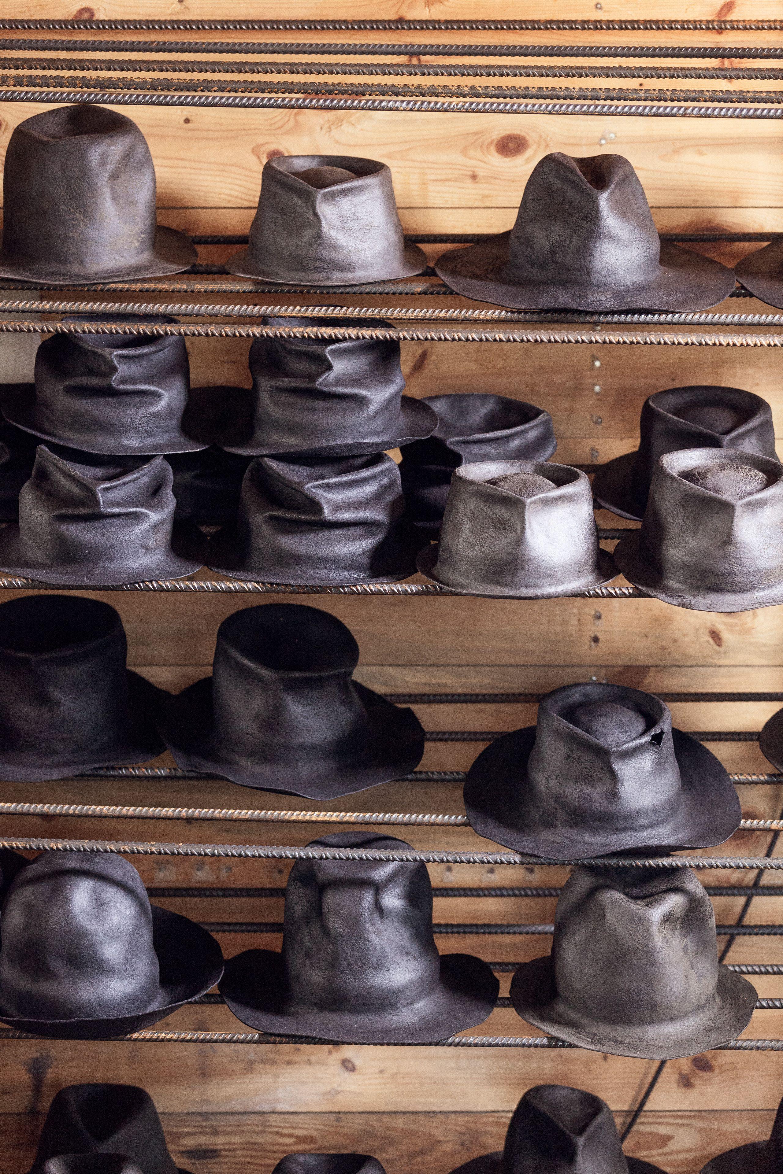 Photographer Jonas Lindstrom Horisaki Hat Workshop In Residence Magazine Barret Hat Hats Fashion