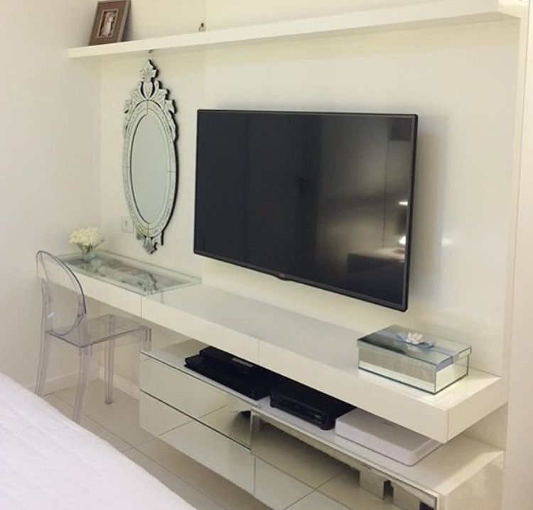Pin de ilumine pacem diliges en quartos e escrit rios for Decoracion mueble tv