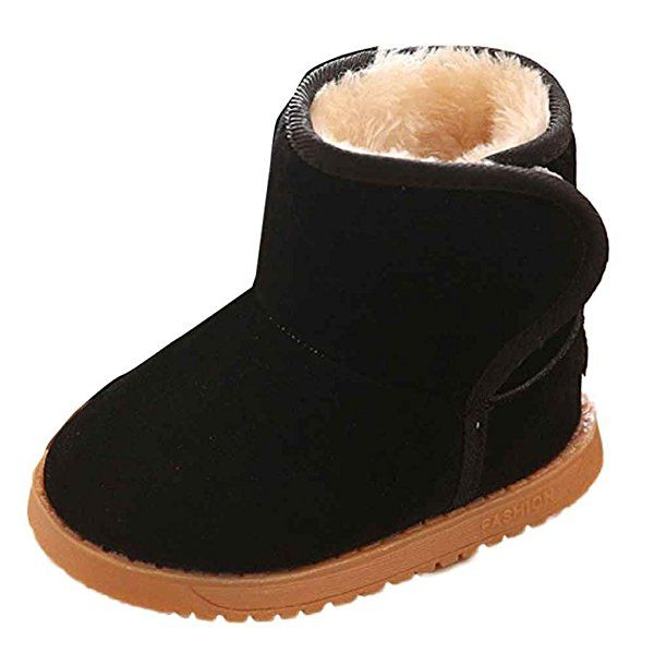 dcf2d1db0 Changeshopping 1 Pair Winter Baby Child Kids Style Cotton Boot Warm ...