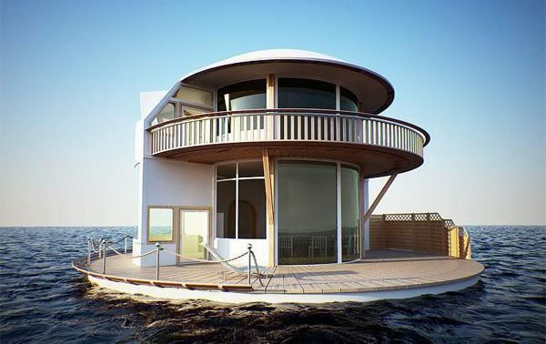 House / Boat ???  Way Cool...