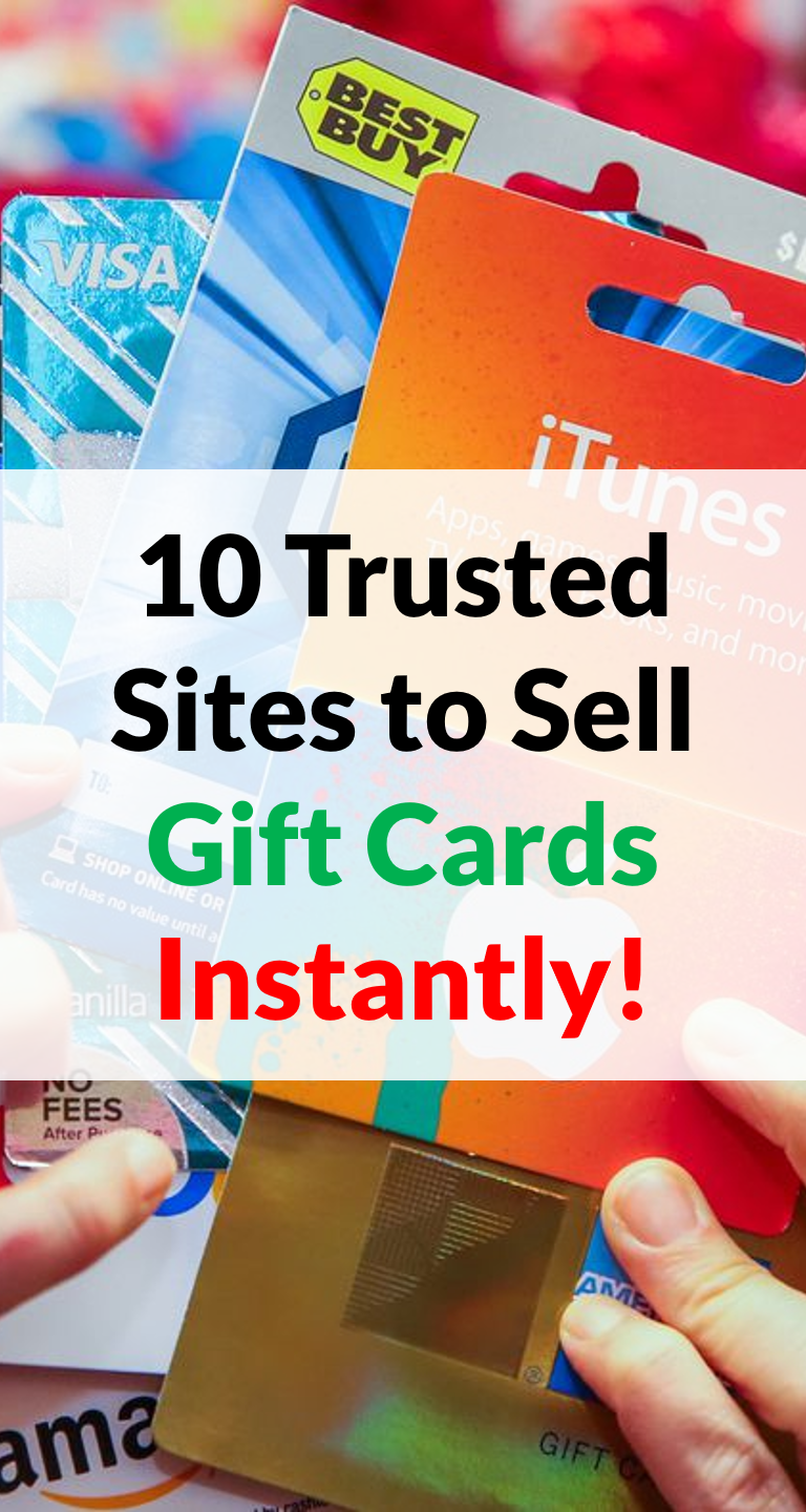 10 Trusted Sites to Sell Gift Cards Online for Cash Instantly in ...