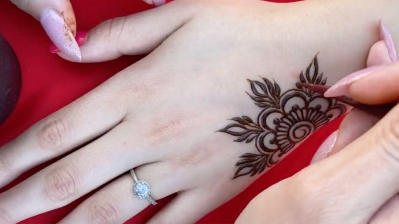 أجمل نقش حناء ستشاهدينه Most Beautiful Henna You Can See Henna Drawings Henna Hand Tattoo Hand Tattoos