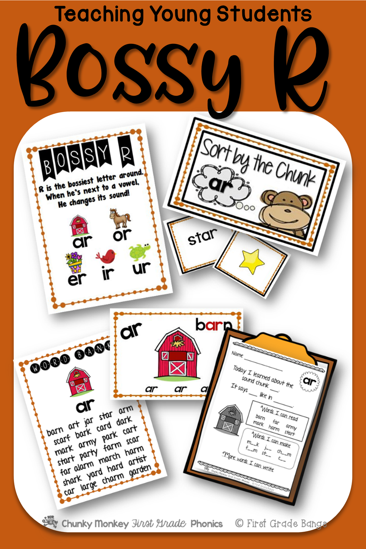 Bossy R Teaching Resources And Literacy Centers