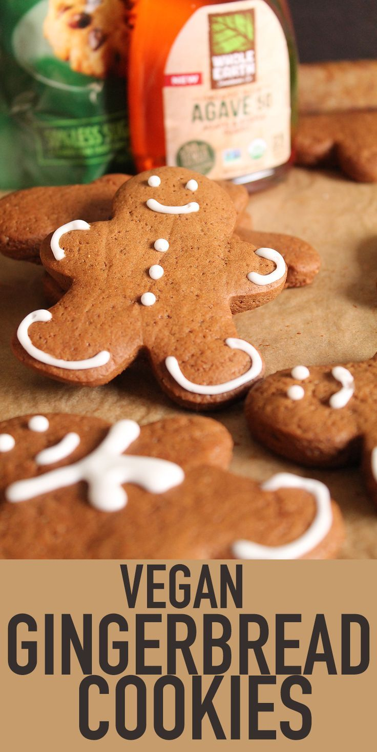 Vegan Gingerbread Cookies | My Darling Vegan