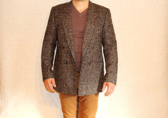 Wool Size 50 Ysl Jacket Mens Laurent Yves Saint 0wPk8nO