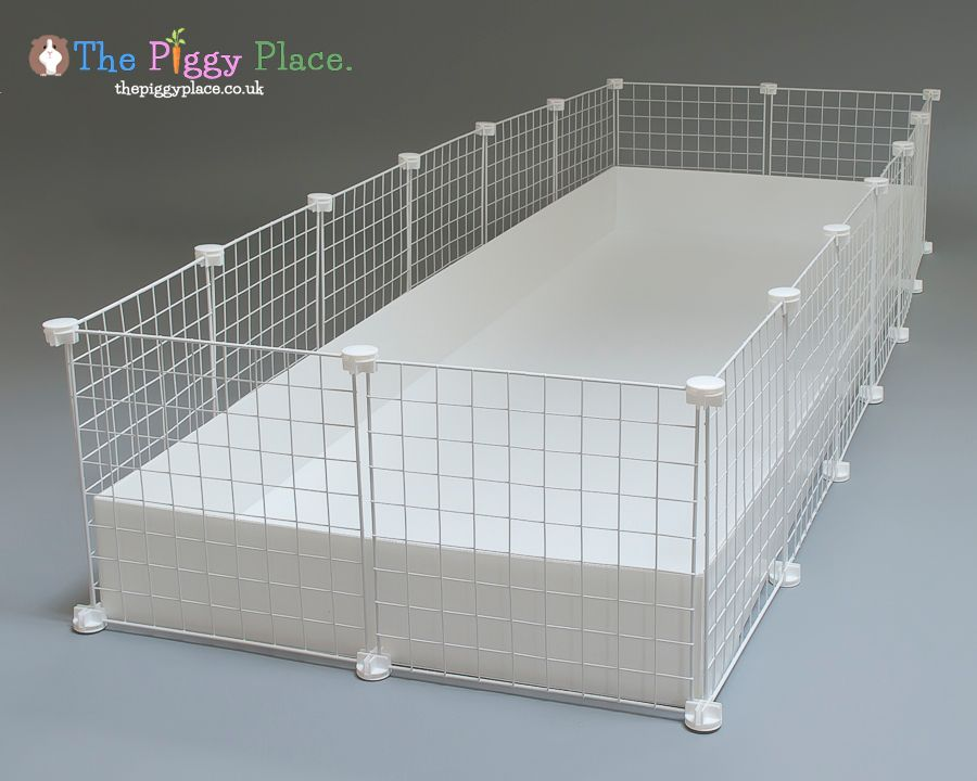 This 2 by 6 c c cage with a loft is only for Guinea pig cage for 3