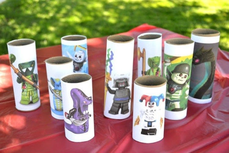 Ninjago Party // lemon squeezy home toilet paper roll targets