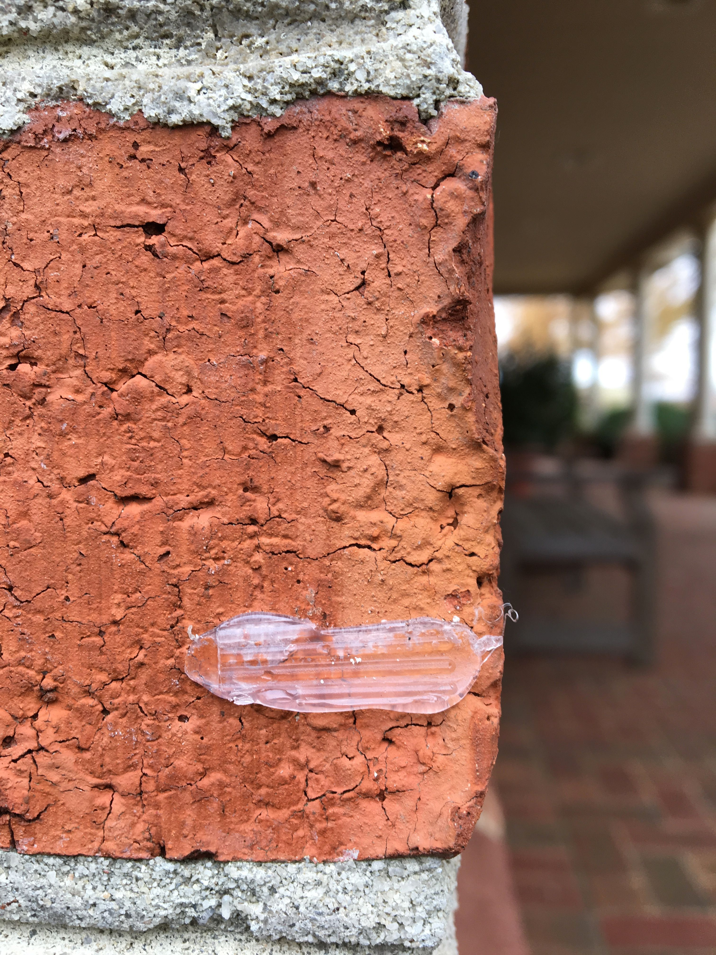 How To Remove Glue From Brick When You Take Down Christmas