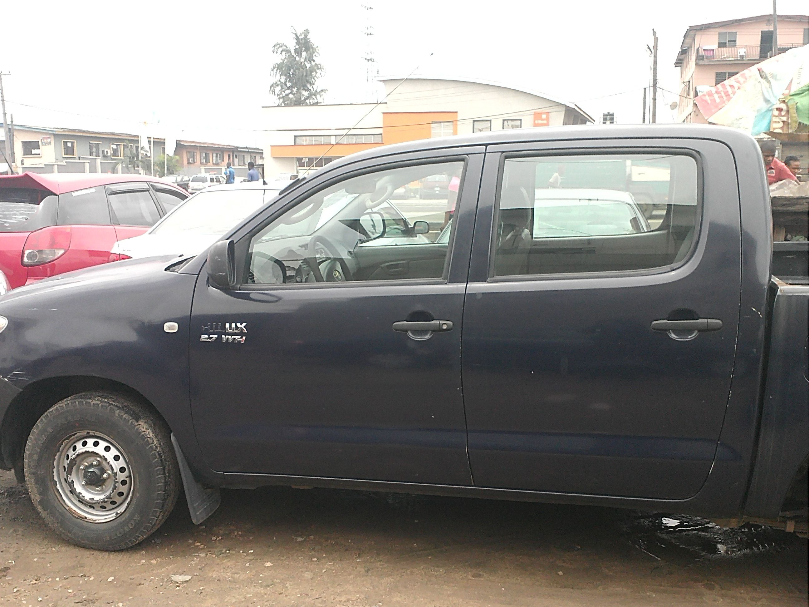 Clearance sales toyota hilux car just disposed by a