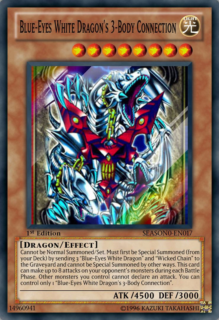 Blueeyes white dragons 3body connection by jam4077