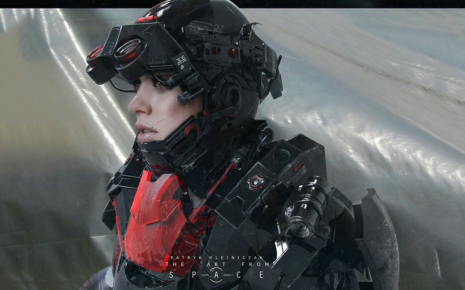 Fantasy Future Girl Soldier Wallpapers Pictures Star Citizen Combat Suit Sci Fi