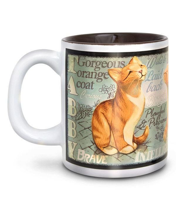 Look at this Orange Tabby Cat Mug on #zulily today!