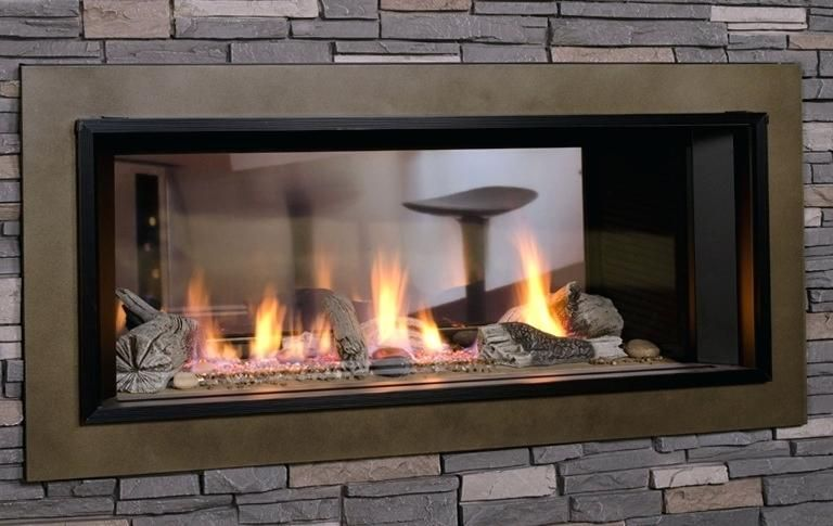 2 Sided Electric Fireplace Electric Fireplace Fireplace Design