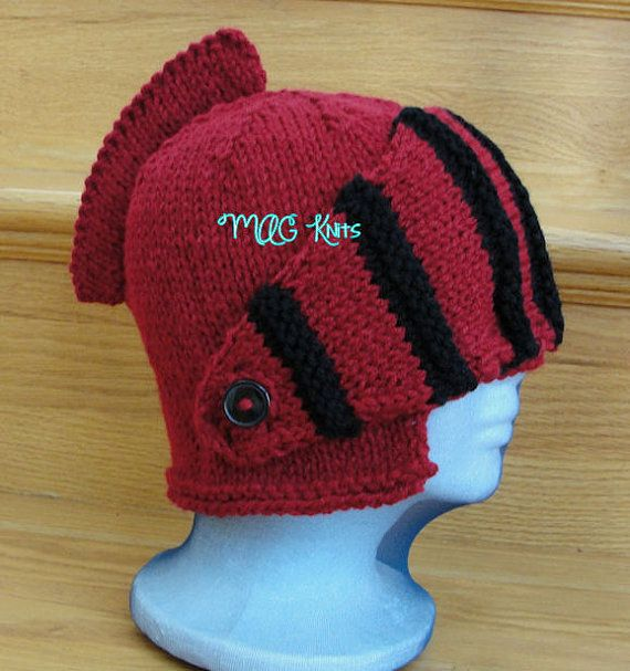 Instant Download PDF - Sir Knight Helmet Crochet Pattern | Pinterest ...