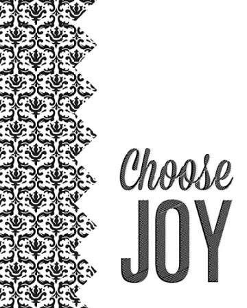 Be Simple Choose Joy II
