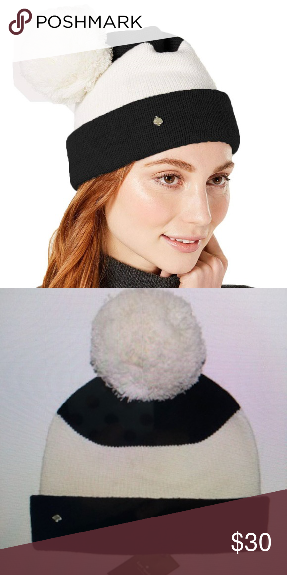 98dcab6d760f3 Kate Spade New York Colorblocked Beanie. NWT. Kate Spade Color Block Beanie  . Black