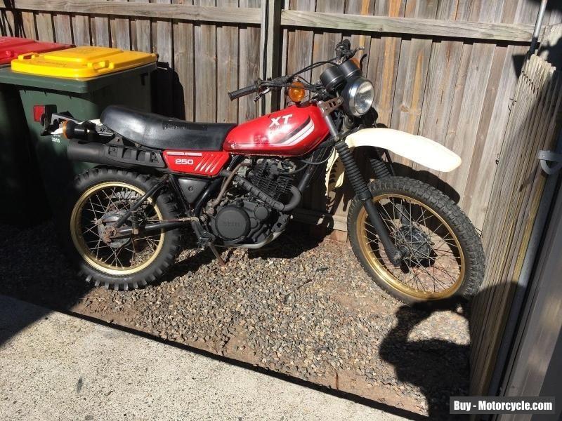 Yamaha Dt 250 1979 Yamaha Dt250 Forsale Australia Yamaha Used Motorcycles Bike