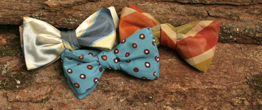 Vintage Ties, Bow Ties, Pocket Squares, and Men's Furnishings Handmade in the United States in limited run by General Knot & Co.