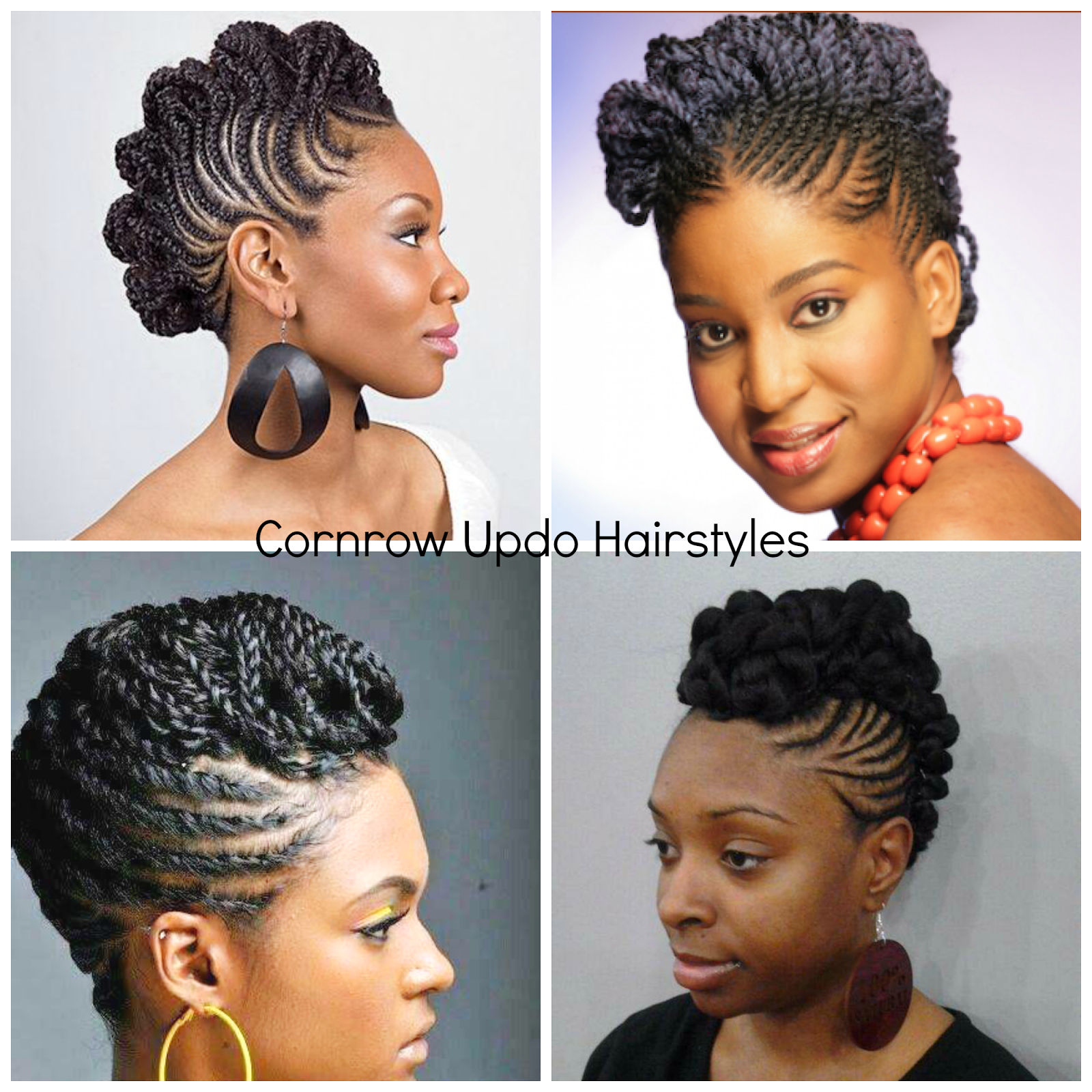 twa styling – cornrow up-do | twa styles, 4c natural hair and cornrow