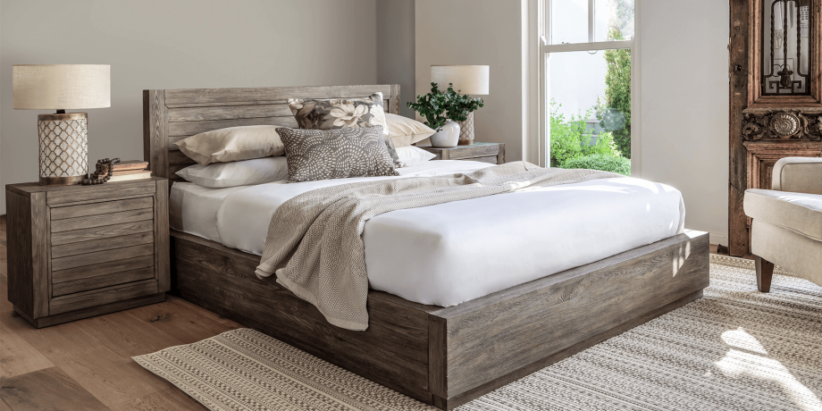 San Remo Double Bed Extra Length Bedroom Furniture Coricraft