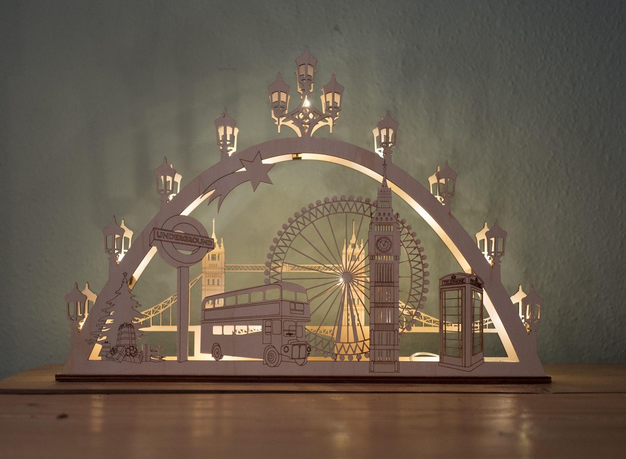 Lichterbogen Schwibbogen candle arch London - von coucoufou https ...