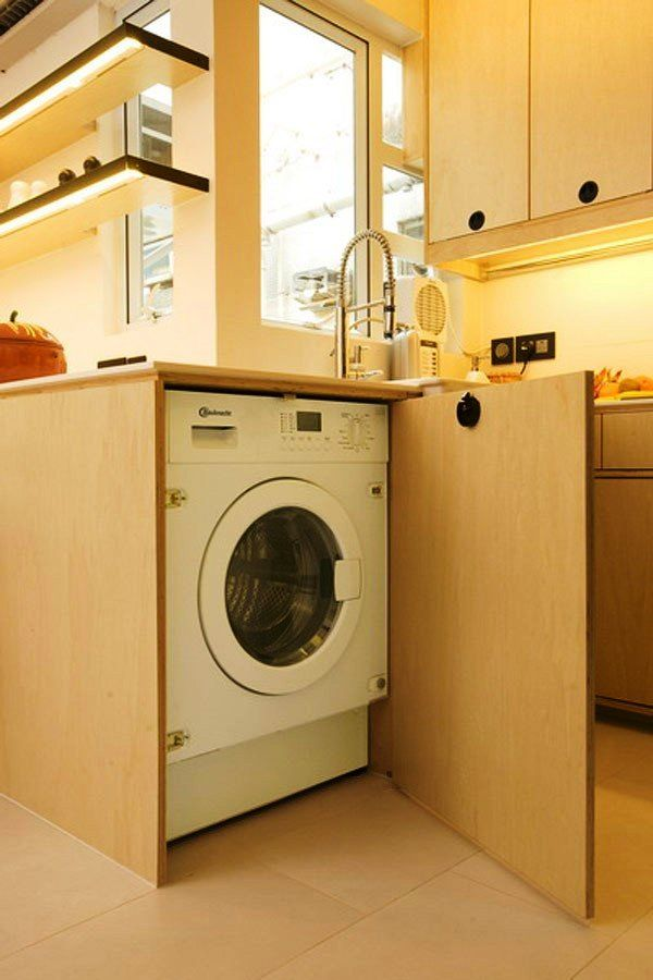 Awesome Small Apartment Washing Machine Ideas - Interior Design ...