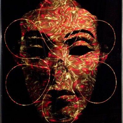 Nefer IAO, 170 x 135, Mixed Media