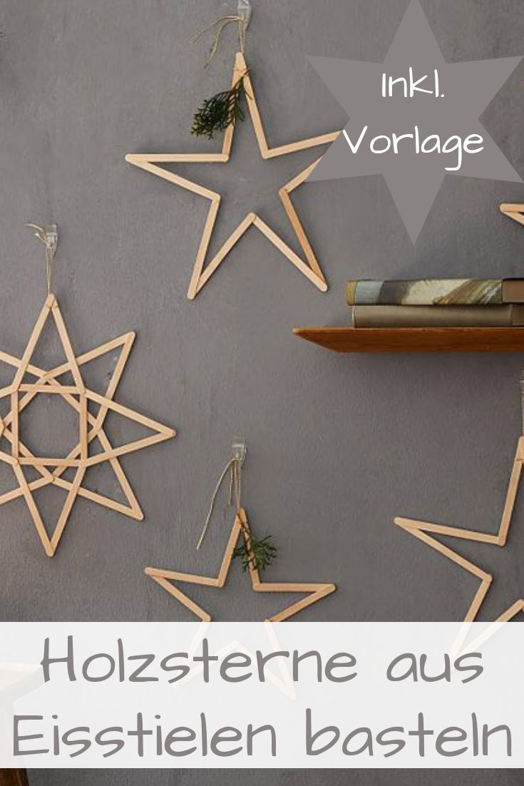 Photo of Tinker wooden stars | selbst.de