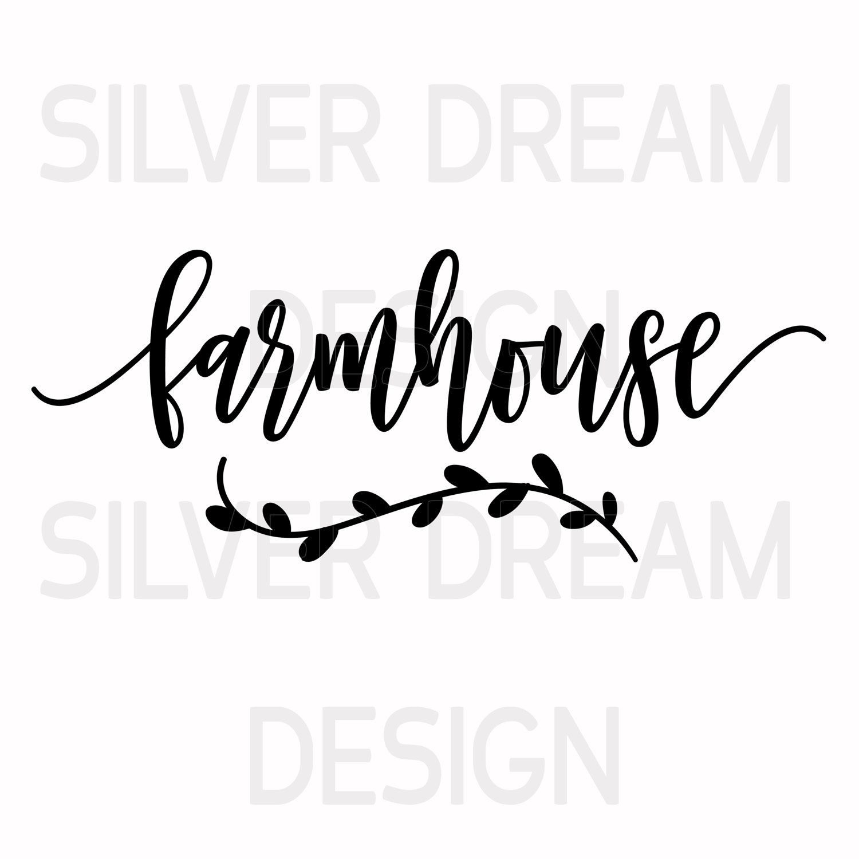 Farmhouse Svg Farmhouse Sign Svg Kitchen Sign Svg Wood