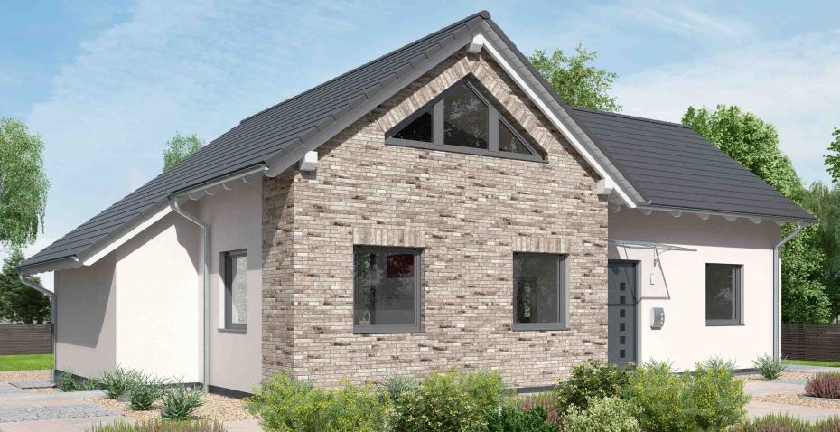 Ytong Winkelbungalow mit Satteldach Ein Haus in L Form