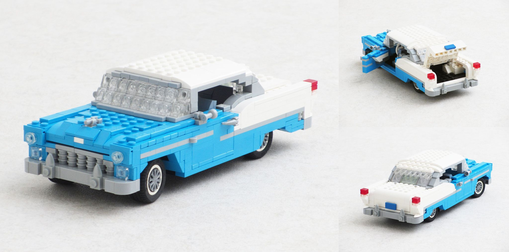 55 Bel Air Lego Models Cool Lego Lego Creations