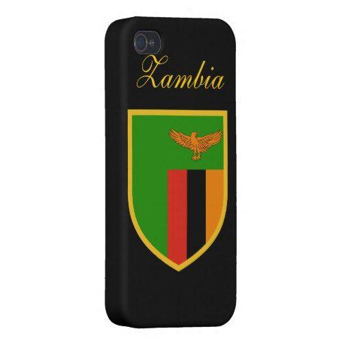 zambia flag iphone case  zazzle  zambia flag iphone