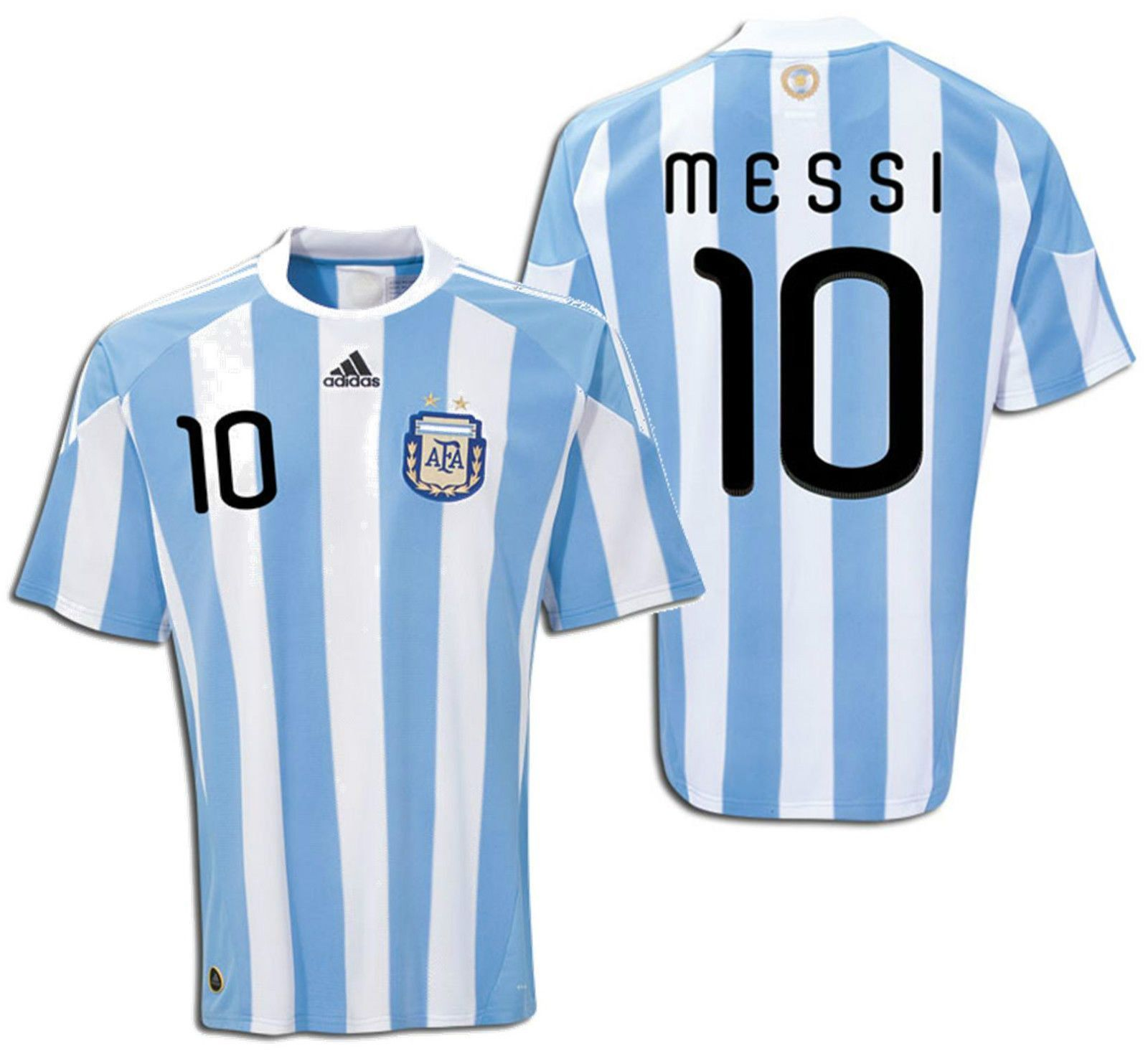 the latest dfd3d 42b23 Adidas lionel messi argentina home jersey fifa world cup ...