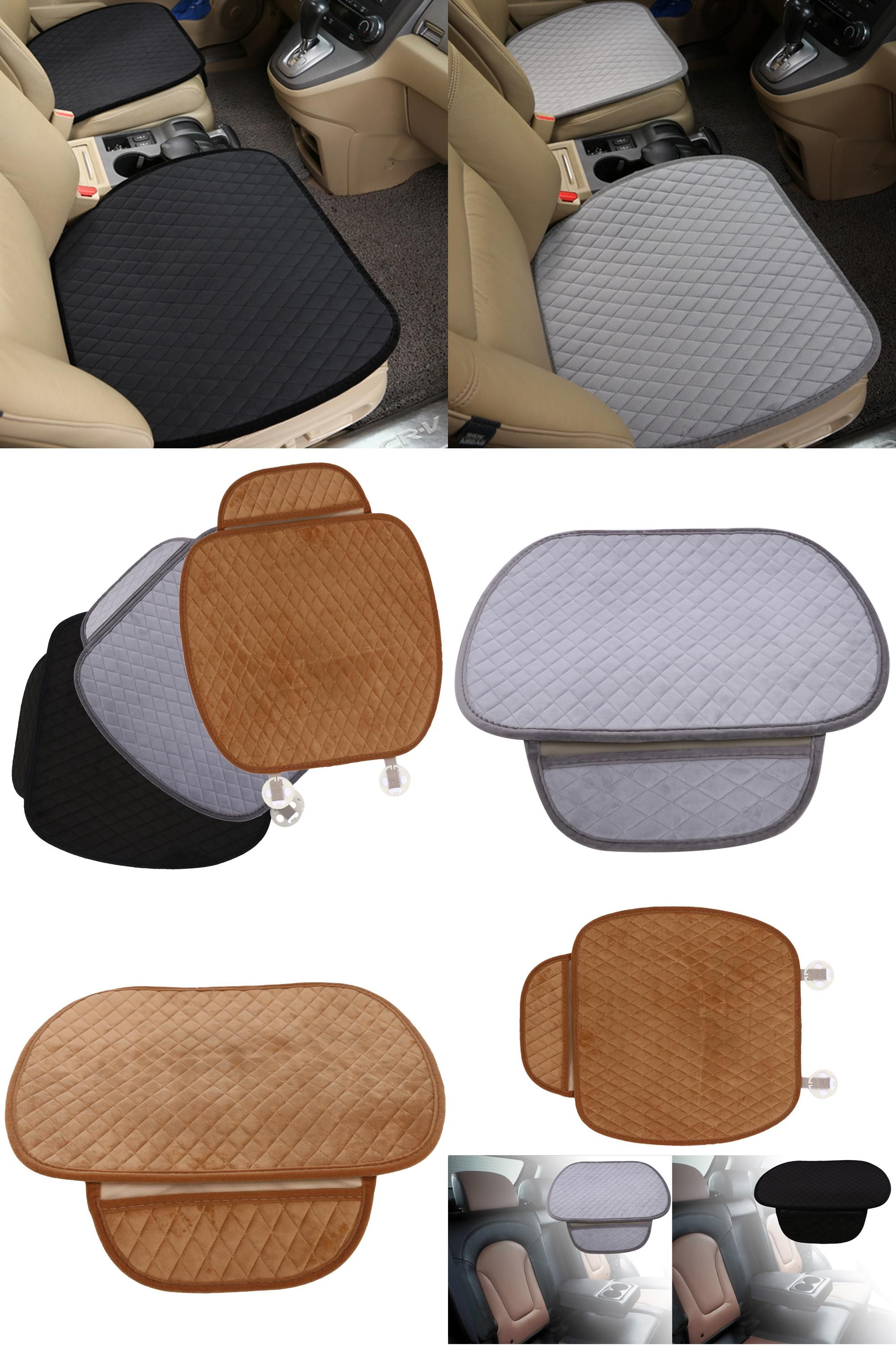 visit to buy universal anti slip velvet car seat covers front