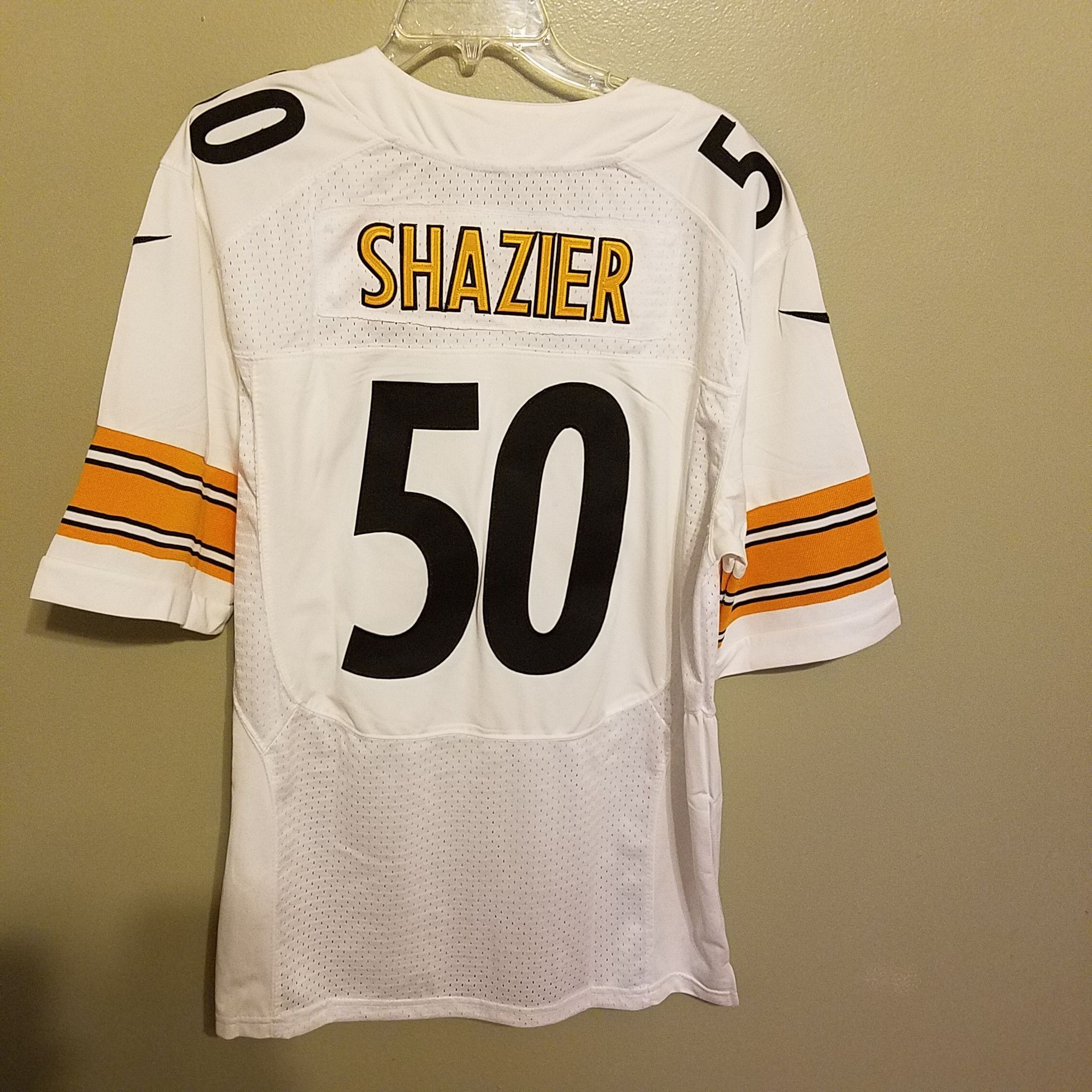 05531007a4e ... PITTSBURGH STEELERS RYAN SHAZIER NIKE FOOTBALL JERSEY SIZE 48 ON FIELD  ADULT .