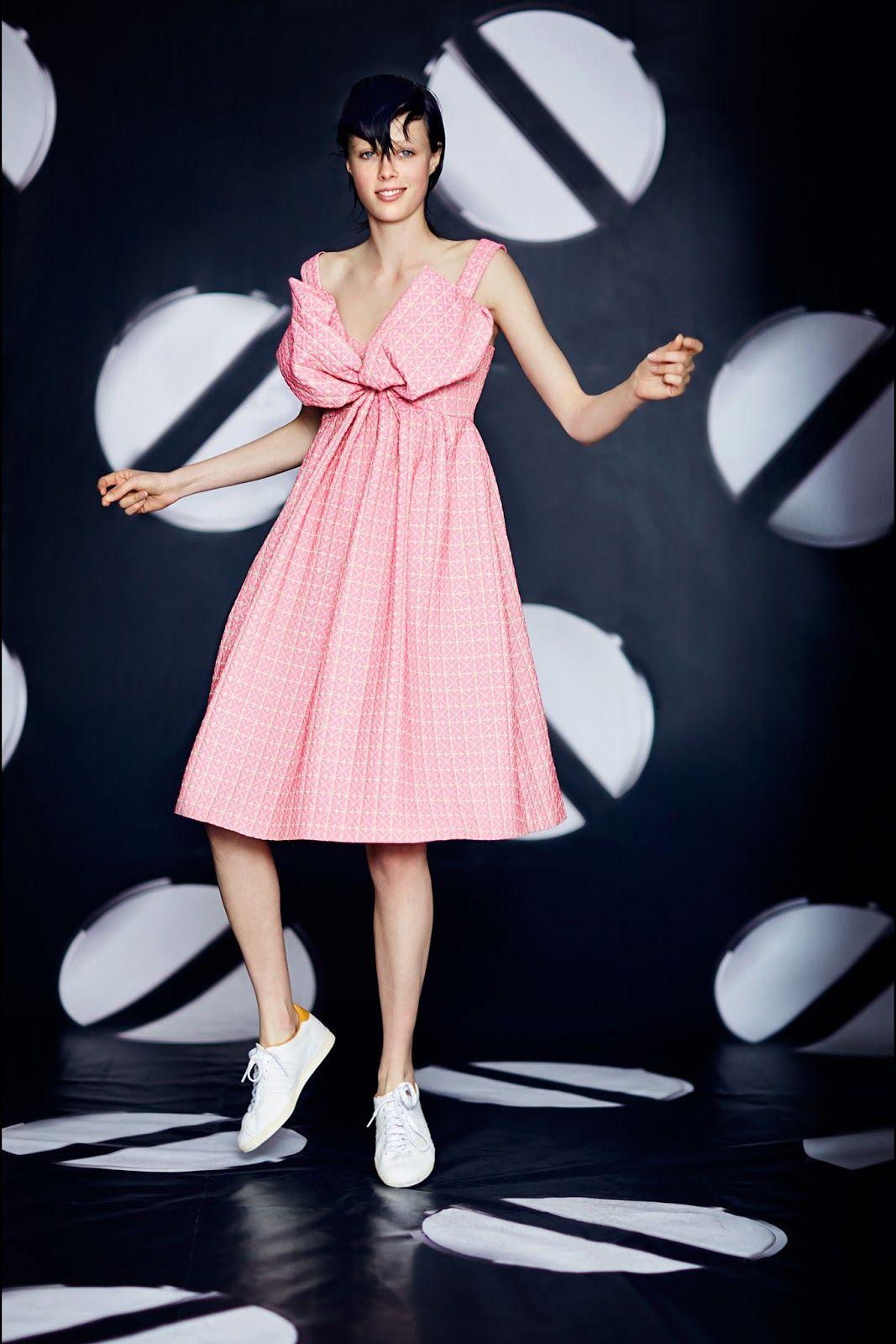 edie campbell for giles resort 2014 | visual optimism; fashion ...