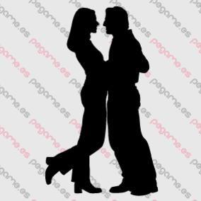 Pegame.es Online Decals Shop  #dance #couple #love #vinyl #sticker #pegatina #vinilo #stencil #decal