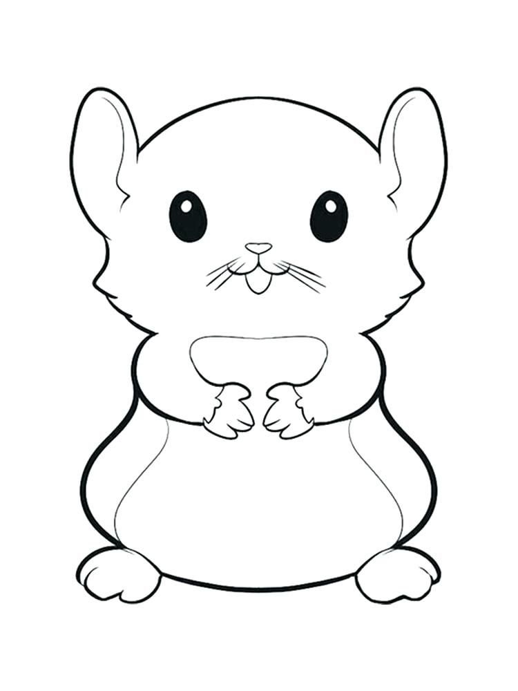 Hamster Coloring Pages Best Coloring Pages For Kids Animal Coloring Pages Cute Coloring Pages Hamster Cartoon