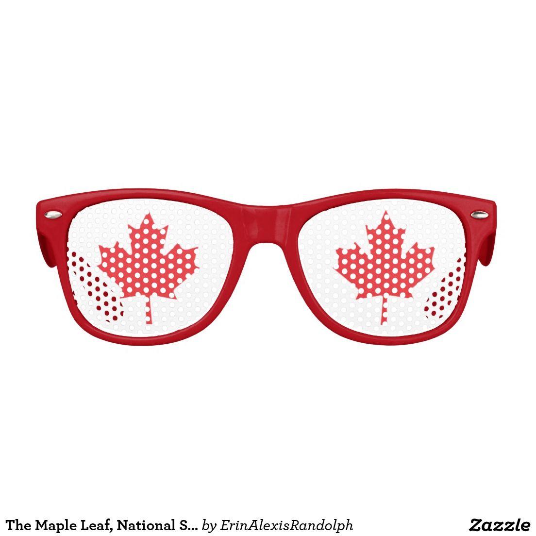 The Maple Leaf National Symbol Of Canada Kids Sunglasses Kids