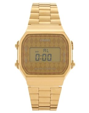 a7e8178c595 Casio A168WG-9BWEF Digital Quartz Gold Watch   Nyní v našem obchodě ...