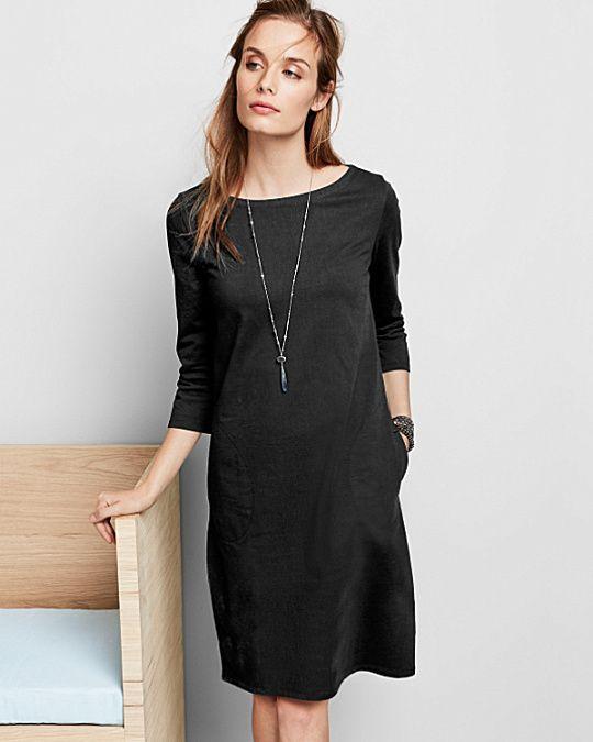 Bateau Knit Dress