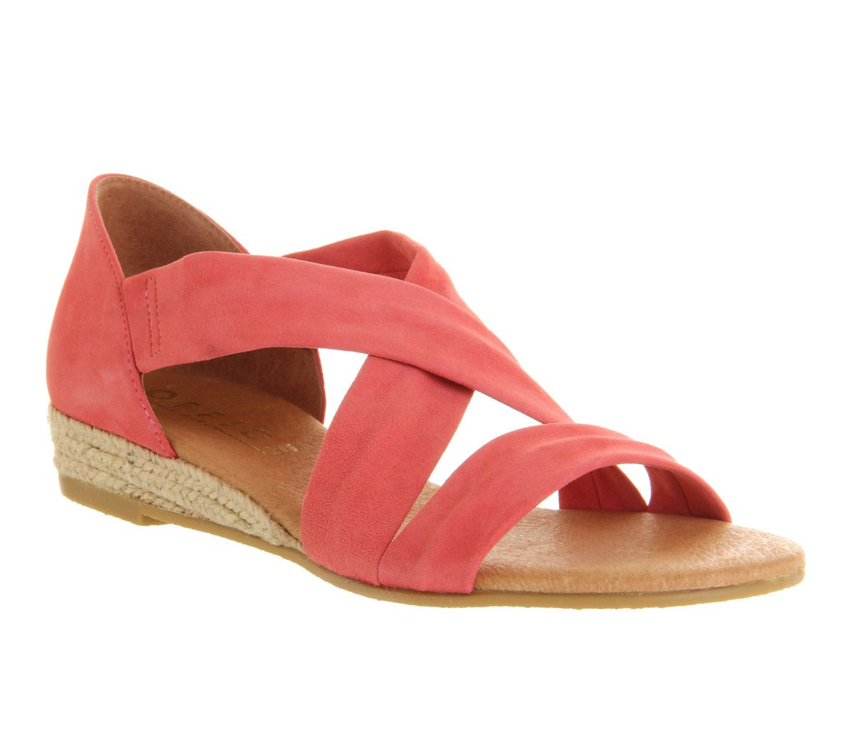 Office HALLIE - Wedge sandals - gold vKljtH0