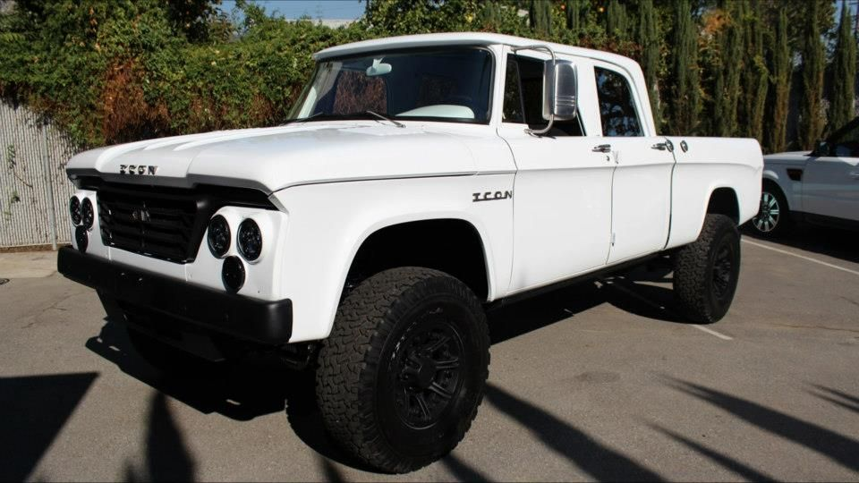ICON 1965 Dodge D200 Crew Cab Recreation | eBay Motors Blog | B O ...