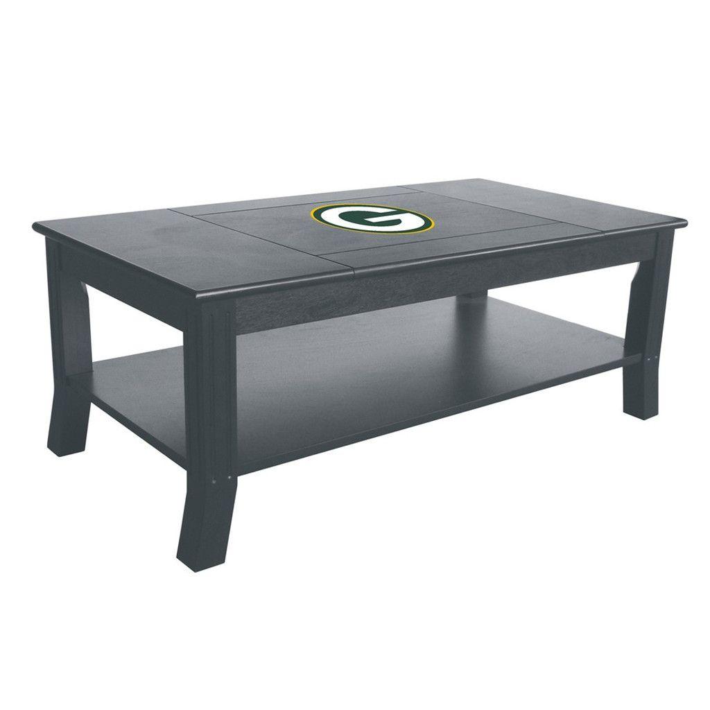89eabbaf29c Coffee Table - Green Bay Packers