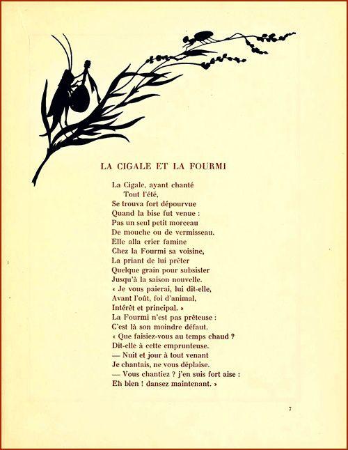 La cigale et la fourmi french online and online tutoring - Illustration la cigale et la fourmi ...